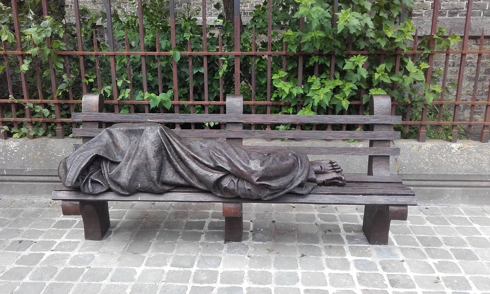 Homeless in Brugge