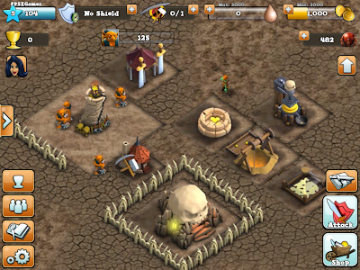 Hugo Troll Wars - IOS game like Clash of Clans