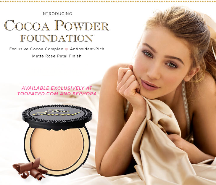NEW! Too Faced Cocoa Powder Foundation