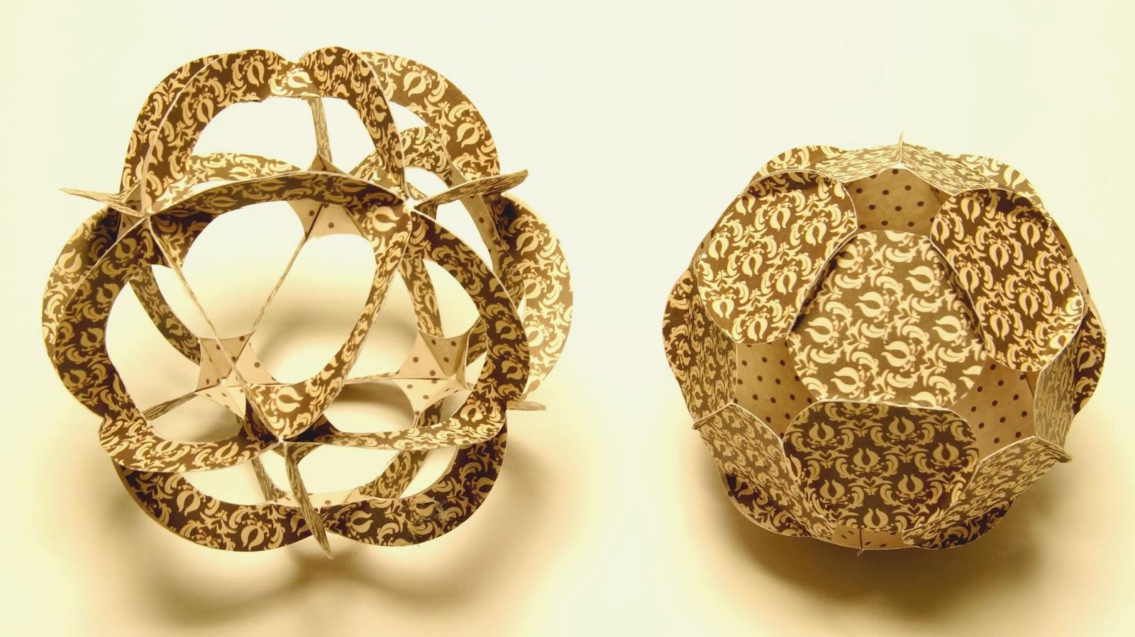 basteln und mehr paperballs basteln aus papier ornamenten. Black Bedroom Furniture Sets. Home Design Ideas