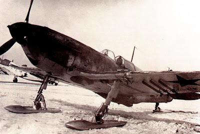 Зимой 1941-1942 годов ЛаГГ 3 проходил испытания