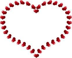 hearts Valentine's Day romance