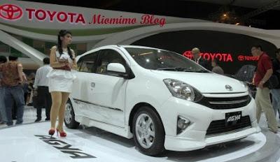 Harga dan Spesifikasi Resmi Toyota Agya