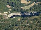 La Bauma del Saltant de Roca Gironella des del Serrat de l'Onyó