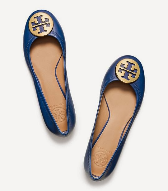 tory burch reva ballet flat on sale