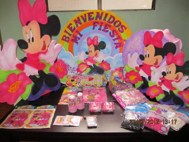 Minnie decoraciones para fiestas - Decoracion fiesta cumpleanos infantil ...