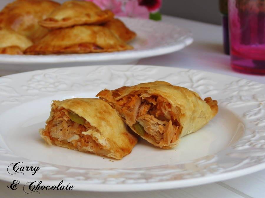 """Empanadillas fáciles de atún al horno – Tuna """"empanada"""""""