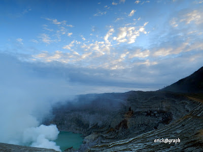 Ijen : Kemilau Telaga Emerald di Timur Jawa