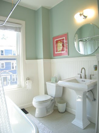 To Da Loos Wainscoting In The Washroom Which Style Works