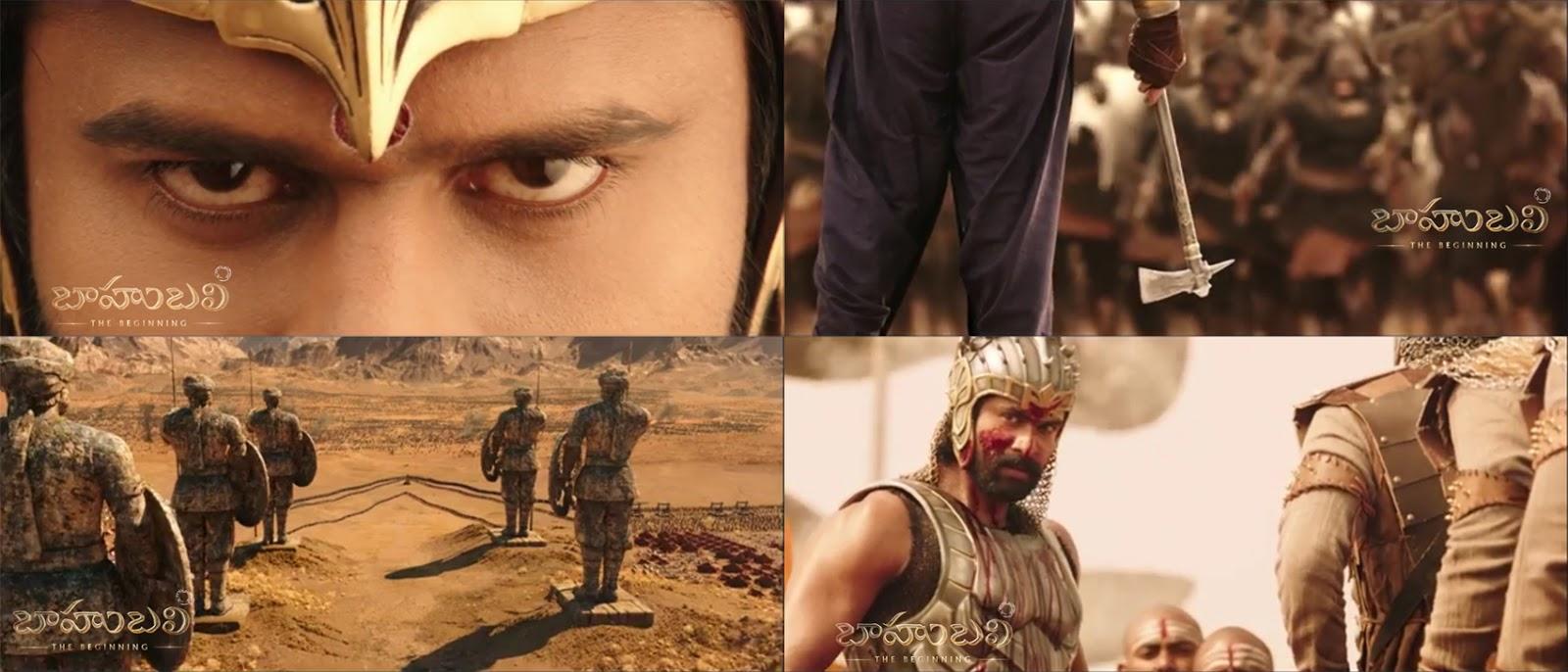 Baahubali - The Beginning Teaser - Prabhas, Rana Daggubati,Anushka, rajamouli