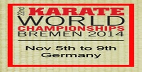 KARATE WORLD CHAMPIONSHIPS 2014