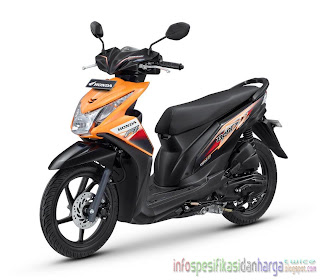 Harga Honda New Beat FI CBS Motor Terbaru 2012