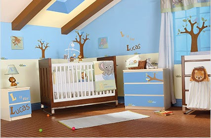 Como decorar el cuarto de tu bebe como decorar tu hogar for Decoracion dormitorios ninos varones