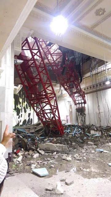Kren Tumbang Di Masjidil Haram, sekurang-kurangnya 65 orang terbunuh