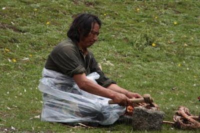 Pengebumian Ngeri Tibet