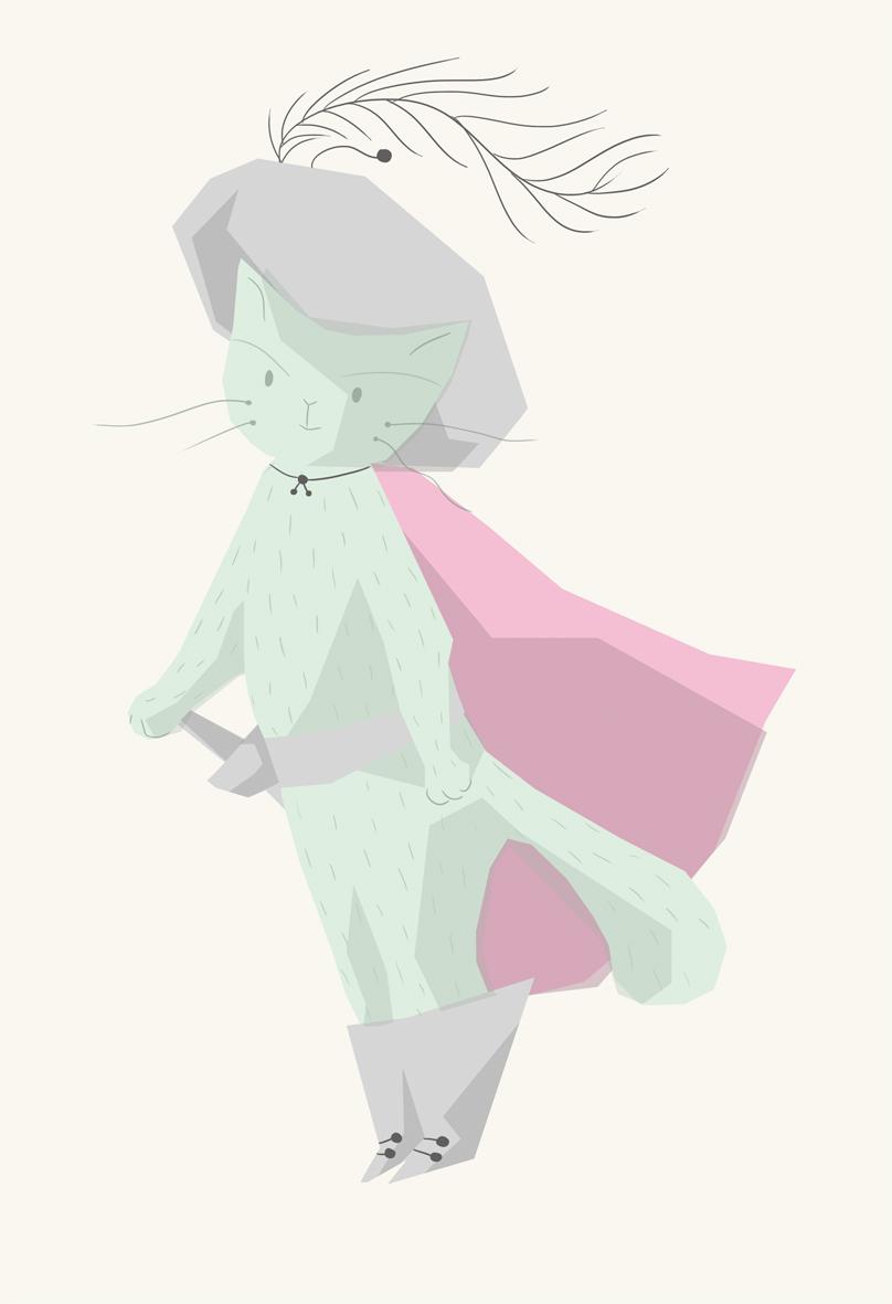 Puss in Boots, gato con botas, illustration, ilustración
