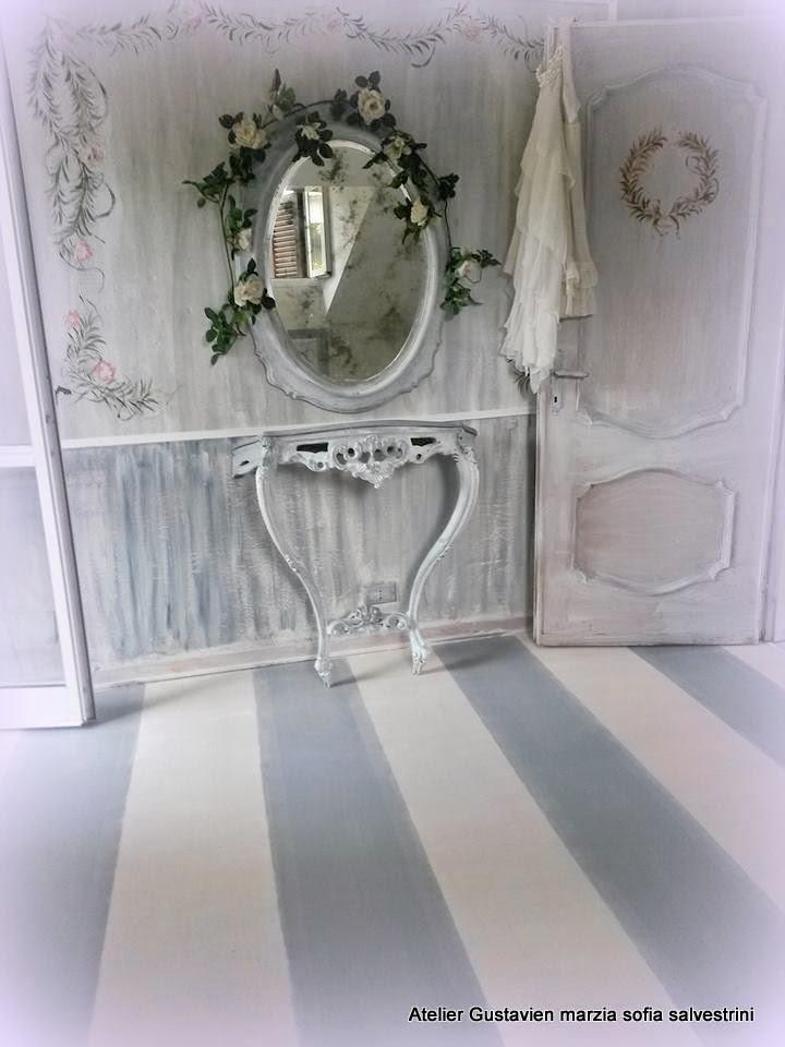 Marzia sofia salvestrini : pavimenti in legno dipinti con shabby chalk