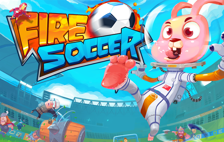 Fire Soccer Gameplay IOS / Android