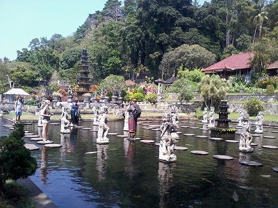 fish pond tirta gangga