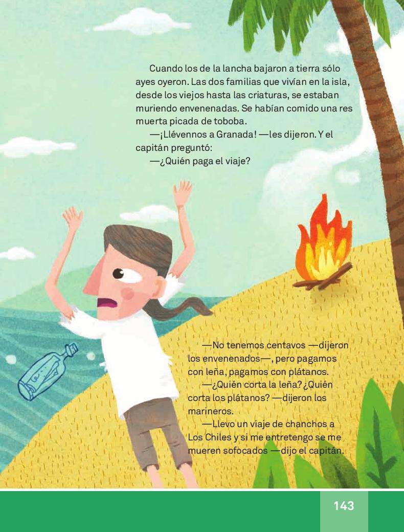 El barco negro - Español Lecturas 3ro 2014-2015