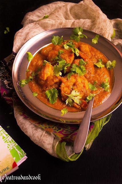 how to cook bengali style Chingri Macher Jhol