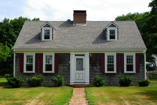 Exterior house color ideas for capes - Of Houses And Trees The Houses In Which We Live No 1 Cape Cod And