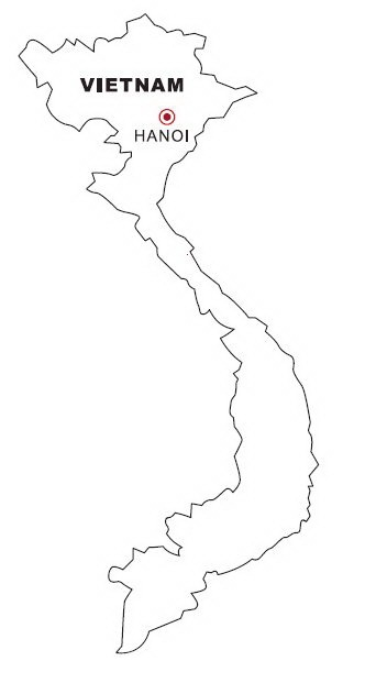 flag coloring pages vietnam - photo#34