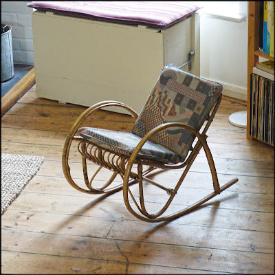 Child's cane rocking chair