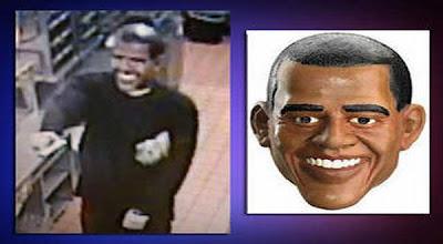 Pakai Topeng Obama, Pria Ini Rampok Restoran