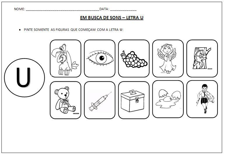 Figuras letra u - Imagui