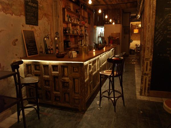 Marzua la nieta carmela un nuevo bar de arte y reciclaje - Material para bares ...
