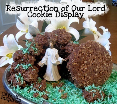 how to make easter tomb cookies