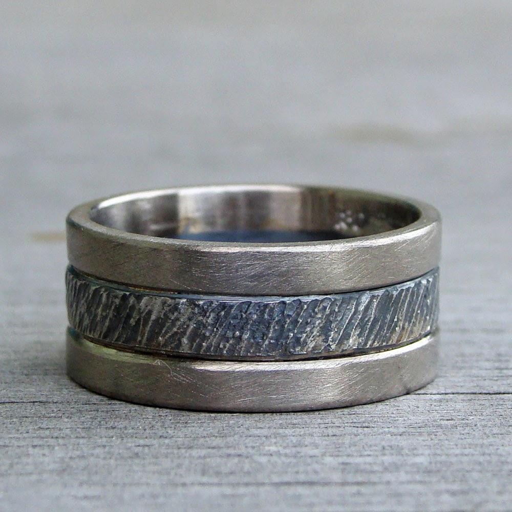 recycled two-tone band