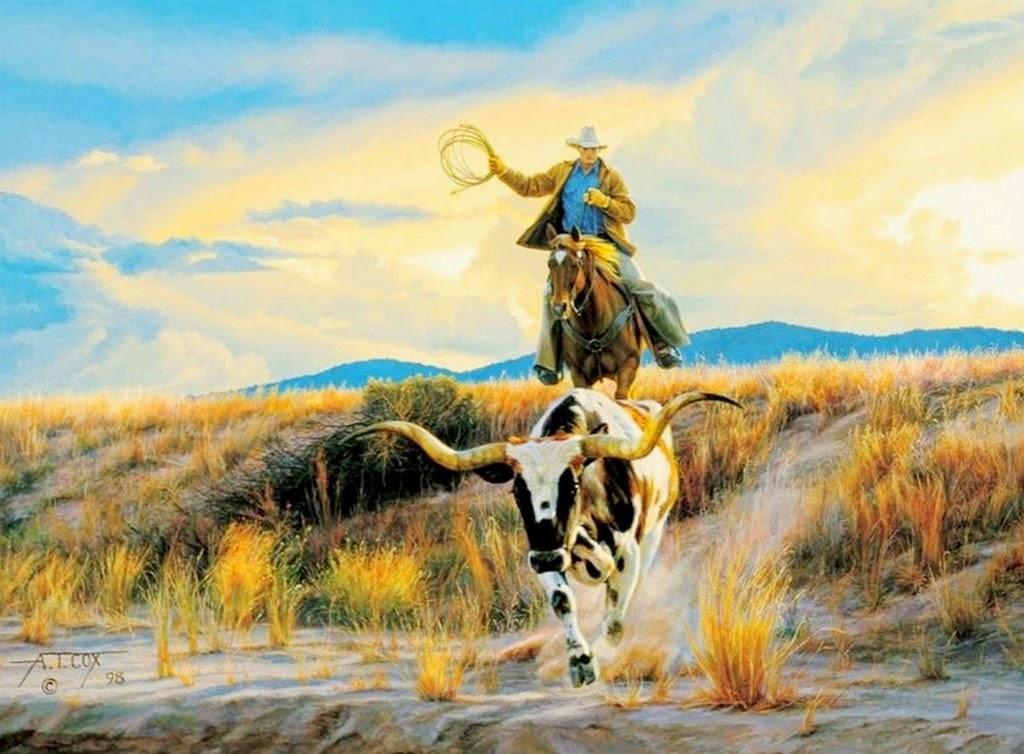 pinturas-de-vaqueros-al-oleo