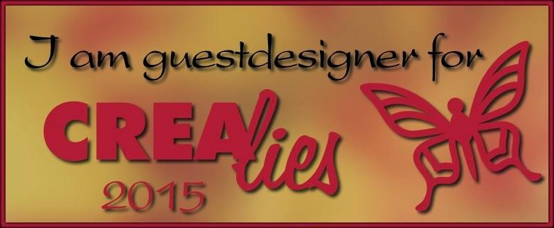 Guest designer Crealies