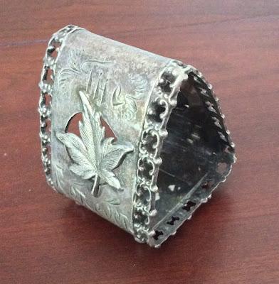 Victorian Figural Napkin Ring NO. 5