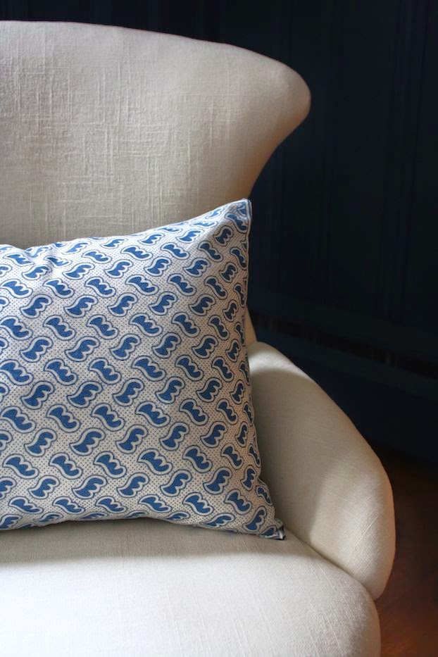 Antoinette Poisson printed pillow via Meet Me in Philadelphia