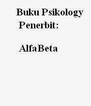 Buku Psikology Penerbit Alfa Beta