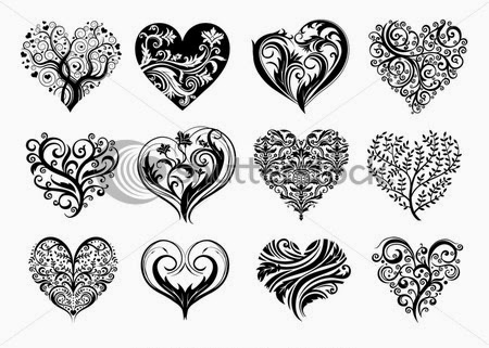 Heart Tattoos Idea (Part 1)