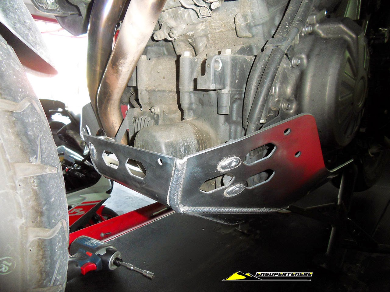 supertenere original skid plate