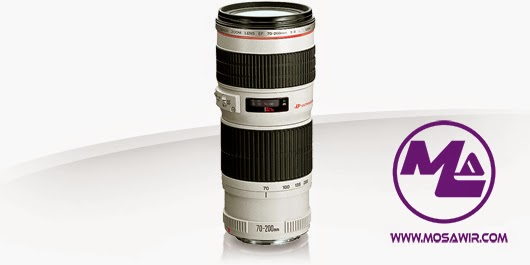 عدسة كانون: EF 70-200mm f/4L USM