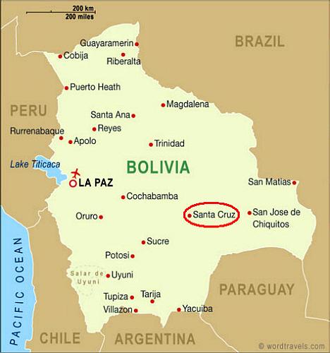 Oro en Bolivia