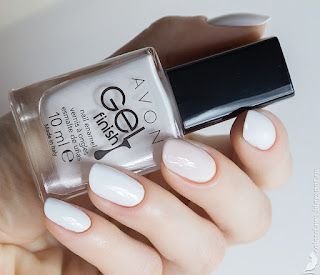 Avon Gel Finish Iceberg White