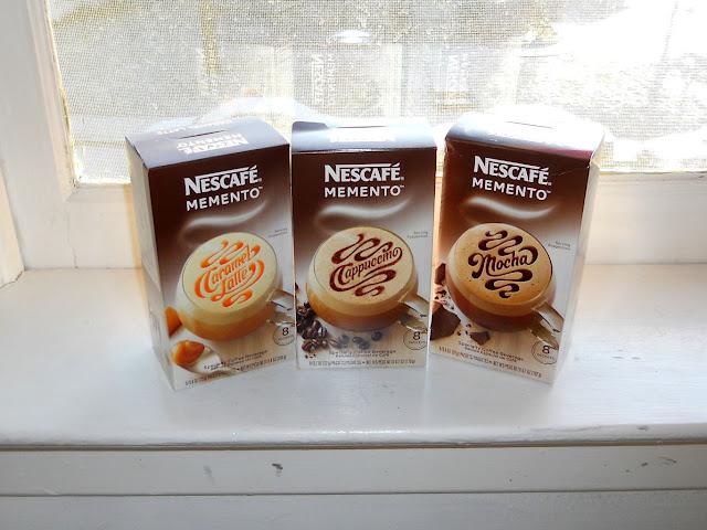 Nescafe Membeto Carmel Latte, Cappuccino, Mocha