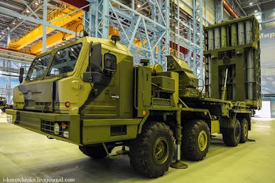 S-350 Vityaz launcher