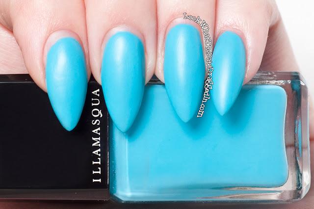 Illamasqua Serenity nail polish swatch rubber brights