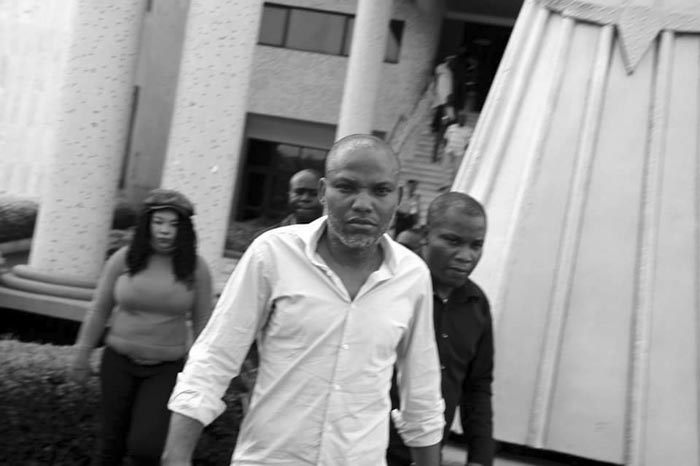 Biafra: Buhari Plans To Move Nnamdi Kanu Into Prison Where Boko Haram Prisoners Are Kept - IPOB