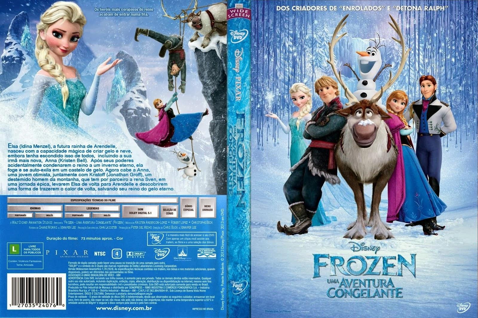 capa do Filme Frozen
