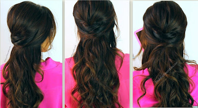 1 Kim Kardashian Hairstyles, How to No Heat Curls | Hair Tutorial Video