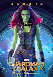 Gamora poster for Guardians of the Galaxy